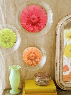 Decorative Flower Plates