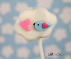 Bubble and Sweet: Love is in the Air cake pops