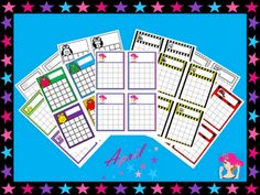 Grade School Giggles: Free Reward Charts