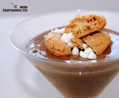 Crema frangipane de chocolate y amaretti