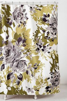 Shadow Bouquet Shower Curtain  $44.00