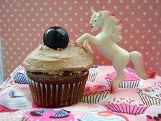 Truffle-stuffed cupcakes with a side of unicorn.