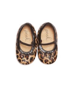 Perfect Fall baby flats