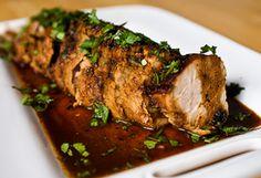 Roasted Pork Tenderloin / Muschiulet de porc prajit :: Romanian Food Recipes