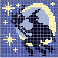 WitchWolfWeb Creations: Witch and Moon Chart