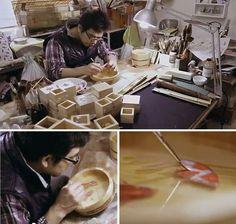Riusuke Fukahori, at work.