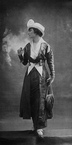Les Modes (Paris) 1914 Robe d'apres-midi par Bulloz