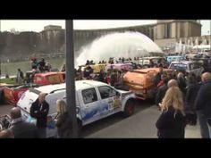 Top départ du Rallye Aicha des gazelles du Maroc. 160 équipages ont pris part au prologue de cette 24ème édition.
