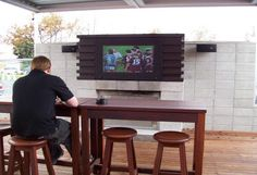 get a nice outdoor tv cover