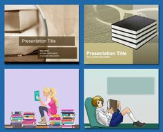 Books background #free #powerpoint #templates