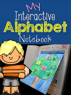Students will practice identifying, sorting, and writing both upper and lower case letters in this fun, engaging, and absolutely adorable Alphabet Interactive Notebook. $