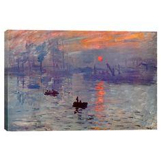 claud monet, impress sunris, sunrises, claude monet, artist, claudemonet, paintings, impressionism, canvases
