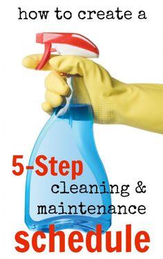 clean clean, clean hous, 5step clean