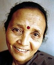 Anuradha Koirala. Founder and Director of Maiti Nepal. This group has rescued over 12,000 women and girls from sex slavery.