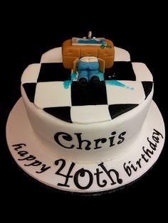Plumber Birthday Cake Ideas