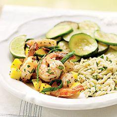 Spicy Mustard Shrimp Recipe | MyRecipes.com