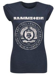 Camiseta, top mujer por Rammstein $24.99 € en EMP... la mayor tienda online de Europa de Merchandising oficial de bandas de Metal, Hard Rock , Heavy, Ropa Gótica , Punk y todo lo que te hace falta para vivir el Rockstyle en toda su dimensión. EMP Rock Mailorder España