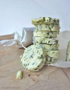 Herb  Lemon Compound Butter