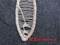 Romanian Point Lace crochet - needleweaving tutorial