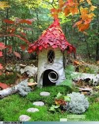 fairy gardens ideas - Cute!