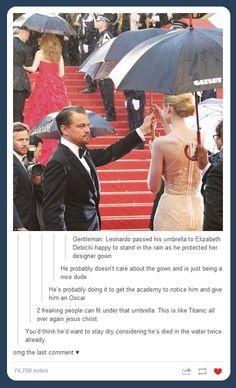 Leo can't catch a break…