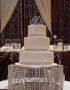 Bling Wedding Cake b
