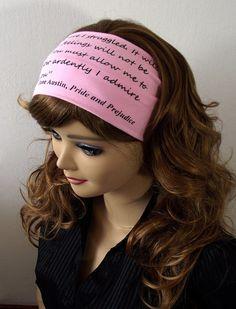 Pride and Prejudice Headband