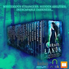 Nook and iBooks readers- 99 cents for 22 YA books! #cursedlands
