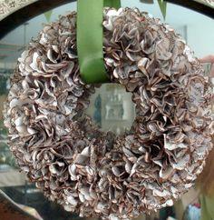 decor, books, book wreath, paper wreaths, book pages, wreath idea, craft idea, halloween wreaths, diy book page wreath