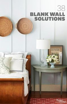 Get inspiration to liven up your blank wall space: http://www.bhg.com/decorating/home-accessories/wall-art/art-for-walls/?socsrc=bhgpin022014blankwalls