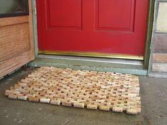 Recycled Wine Cork Doormat