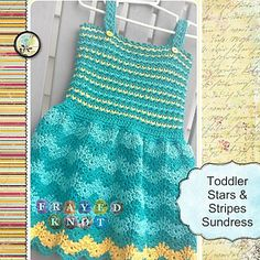 Stars & Stripes Toddler Sundress Pattern by Crafting Friends  6/27/2013