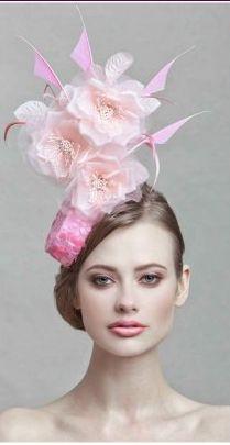 Flower hat #millinery #judithm #gaga