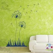 Flying Seeds – Dandelion Wall Decal – evgieNev