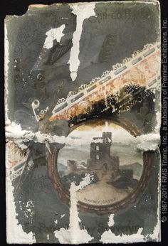 Another postcard recovered from Titanic wreckage