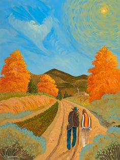 near the chile field by ed sandoval april 2014 oil on canvas