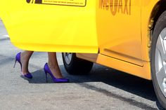 purple, closets, happy colors, new york fashion, yellow, heels, christian louboutin, shoe, stiletto