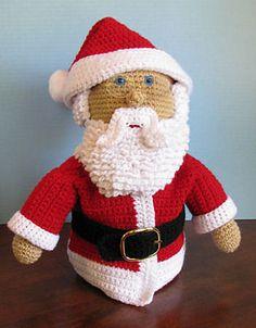Ravelry: Santa Claus Crochet Doll pattern by C.L. Halvorson