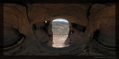 Bamiyan, Afghanistan, click through to Flash icon on bottom for panoramic view