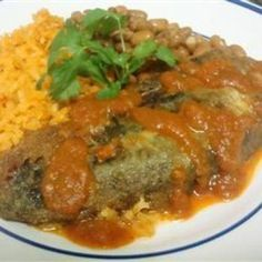 Chiles Rellenos (Stuffed Peppers)