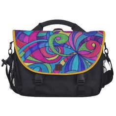 Commuter Bag Floral abstract background   http://www.zazzle.com/commuter_bag_floral_abstract_background-256126912522824262