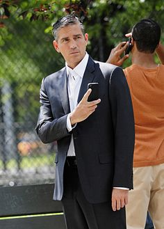 "Jim Caviezel  as John Reese in the CBS TV Show ""Person of Interest"".... taking a selfie! <3"