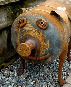 Wish I could find one  See my pic in my docs of propane pig planter.