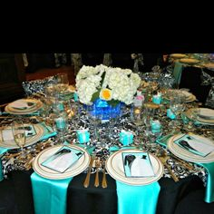 Our Tiffany theme bridal shower