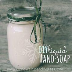 Liquid Hand Soap DIY.