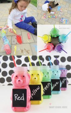 Honey Bear Chalk Paint Tutorial #DIY #CartersHoliday