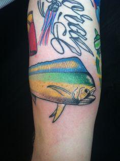 tattoo idea, mahi tattoo