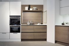 Eggersmann Modern Kitchen | Aluminium Walnut