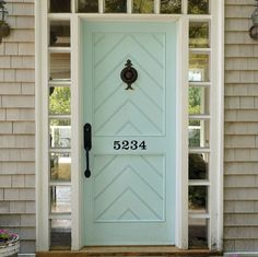 House numbers are not just for brick or mailboxes anymore. Give yours some stylish visibility or consider one as a housewarming gift.