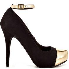 Rivers heels Black Suede PU brand heels Michael Antonio